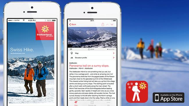 Swiss Hike App
